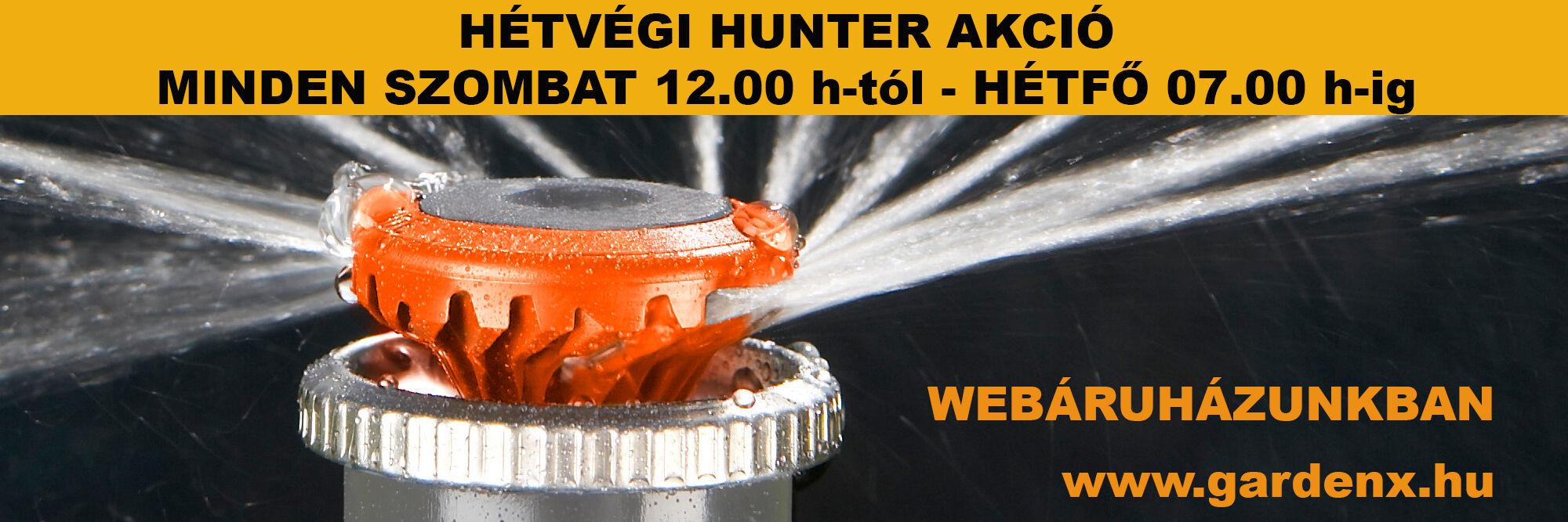 Hunter hétvégi akció