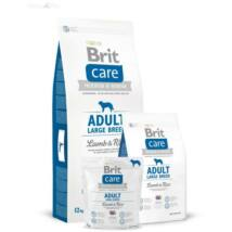 BRIT CARE KUTYATÁP ADULT L (lamb&rice,hypoallergenic) (felnőtt,25kg- ) 12kg