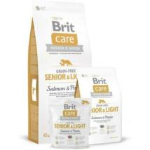BRIT CARE KUTYATÁP GRAIN FREE SENIOR (salmon&potato) 12kg