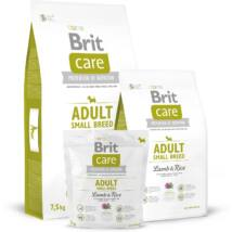 BRIT CARE KUTYATÁP ADULT S (lamb&rice,hypoallergenic) (felnőtt,10kg alatt ) 3kg