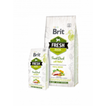 BRIT FRESH KUTYATÁP ACTIVE (duck with millet)(felnőtt) 2,5kg