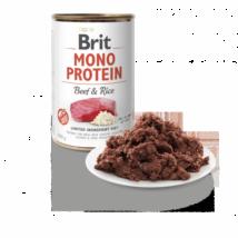 BRIT CARE KUTYA KONZERV MONO PROTEIN (beef&rice) 400g