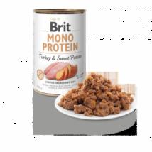 BRIT CARE KUTYA KONZERV MONO PROTEIN (turkey&sweet potato) 400g