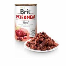 BRIT CARE KUTYA KONZERV PATE&MEAT (beef) 400g