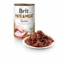 BRIT CARE KUTYA KONZERV PATE&MEAT (rabbit) 400g