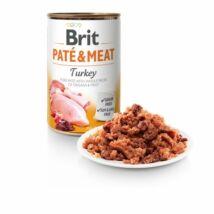 BRIT CARE KUTYA KONZERV PATE&MEAT (turkey) 400g