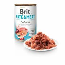 BRIT CARE KUTYA KONZERV PATE&MEAT (salmon) 400g