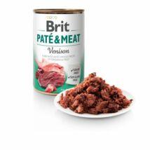 BRIT CARE KUTYA KONZERV PATE&MEAT (venison) 400g
