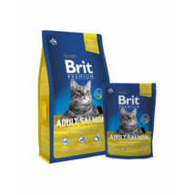 BRIT PREMIUM CAT MACSKATÁP ADULT (salmon) 1,5kg