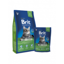 BRIT PREMIUM CAT MACSKATÁP STERILISED 8kg