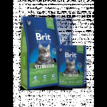 BRIT PREMIUM CAT MACSKATÁP STERILISED 1,5kg