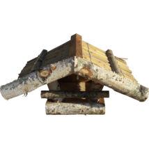 MADÁRETETŐ 1005.TÍPUS fali, 37x22x21cm (fenyő, nyír, nádszövet)