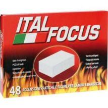Italfocus 48 tűzgyújtó kocka 48 db-os