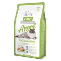 BRIT CARE CAT MACSKATÁP ANGEL SENIOR(8 év- ) 7kg