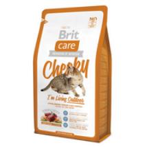 BRIT CARE CAT MACSKATÁP CHEEKY OUTDOOR (vension&rice)(felnőtt,szabadban élő) 7kg