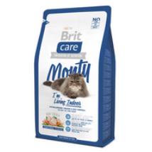 BRIT CARE CAT MACSKATÁP MONTY INDOOR (chicken&rice)(lakásban élő,felnőtt) 2kg