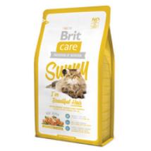 BRIT CARE CAT MACSKATÁP SUNNY BEAUTYFUL HAIR(salmon)(hosszú szőrű,felnőtt) 7kg