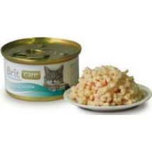 BRIT CARE CAT MACSKA KONZERV chicken breast kitten 80g