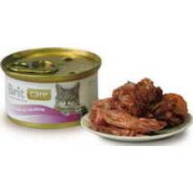 BRIT CARE CAT MACSKA KONZERV tuna&salmon 80g