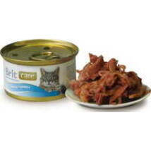 BRIT CARE CAT MACSKA KONZERV tuna&turkey 80g