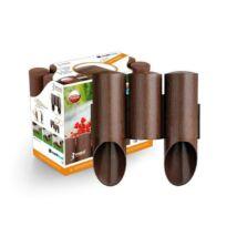 CELLFAST SZEGÉLY PVC MAXI,3 elemes, barna 2,1 m