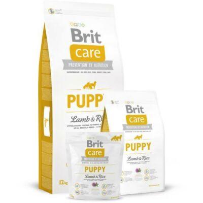 BRIT CARE KUTYATÁP PUPPY ALL BREED (lamb&rice,hypoallergenic) (kölyök) 12kg