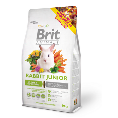 BRIT ANIMALS RABBIT JUNIOR NYÚL ELESÉG 300g