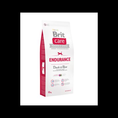 BRIT CARE KUTYATÁP ENDURANCE (duck&rice) (hipoallergén,aktívaknak) 12kg