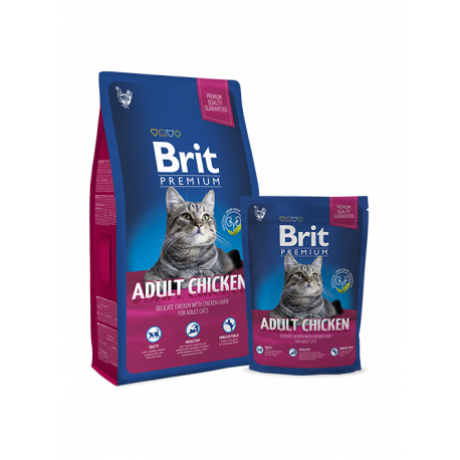 BRIT PREMIUM CAT MACSKATÁP ADULT (chicken) 800g