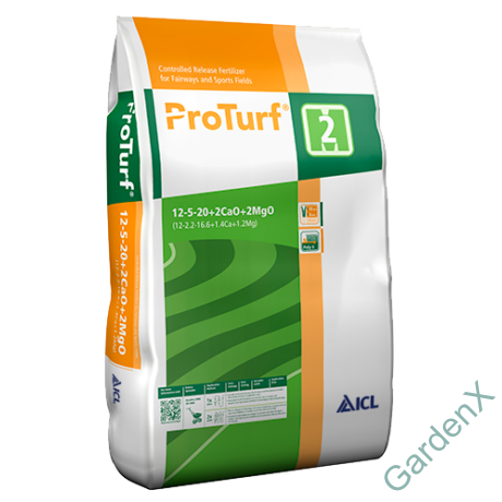 EVERRIS/ICL PRO TURF 12+05+20+2,2 MgO+2,2CaO/2M/25kg/30g