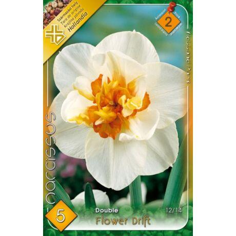 VIRÁGHAGYMA NÁRCISZ Narcisuss Flowerdrift 5db/cs 12/14