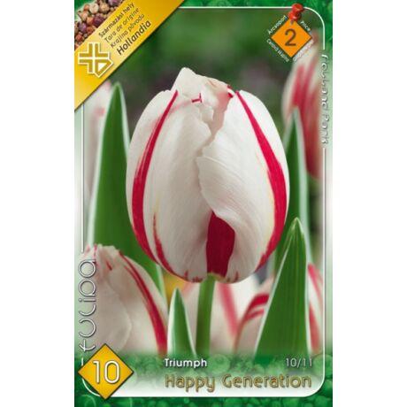 VIRÁGHAGYMA TULIPÁN Tulipa Happy Generation 10db/cs 10/11