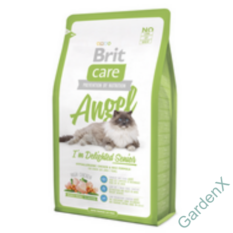 BRIT CARE CAT MACSKATÁP ANGEL SENIOR(8 év- ) 2kg