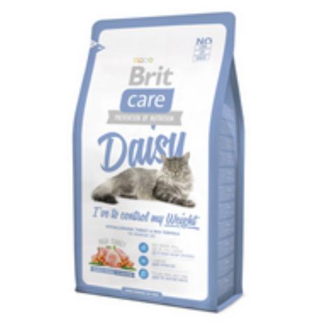 BRIT CARE CAT MACSKATÁP DAISY CONTROL MY WEIGHT (turkey)(túlsúlyos,felnőtt) 7kg